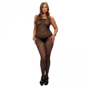 Leg Avenue Bodystocking bezszwowe XL