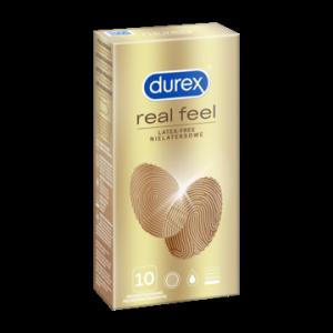 Durex Real Feel - Prezerwatywy nielateksowe (1op./10szt.)