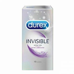 Durex Invisible - Prezerwatywy dodatkowo nawilżone (1op./10szt.)
