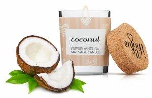 MAGNETIFICO ENJOY IT! Coconut - aromatyczna świeczka do masażu (kokos)