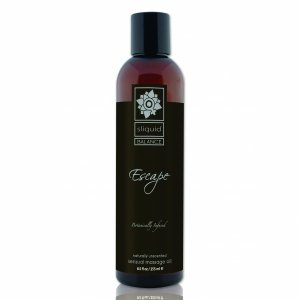 Sliquid Balance Massage Escape 255 ml - bezzapachowy olejek do masażu