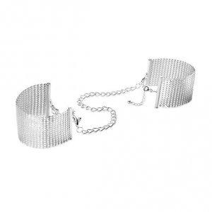 Bijoux Indiscrets - metalowe sex kajdanki MAZE, srebrne