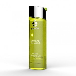 Swede Senze Massage Oil - olejek do masażu 75 ml (cytryna - pieprze - eukaliptus)