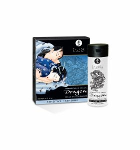 Shunga Dragon Sensitive Cream  60 ml - Stymulujący krem dla par