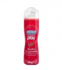 DUREX Play słodka truskawka 50ml - Żel intymny nawilżający o smaku truskawki
