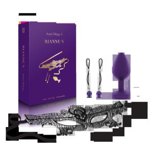 Rianne S - zestaw do krępowania Ana's Trilogy Set II (fioletowy)