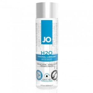 System JO H2O Lubricant Cool 120 ml - chłodzący lubrykant na bazie wody