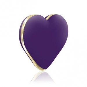 Rianne S Heart Vibe - Masażer łechtaczki (głęboki fiolet)