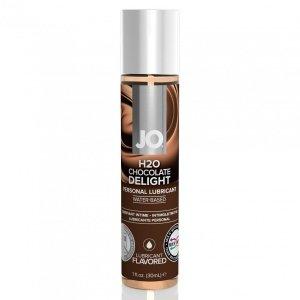 System JO H2O Lubricant Chocolate 30 ml - lubrykant na bazie wody o smaku czekoladowym