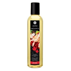 Shunga Maple Delight Organic Massage Oil 250 ml - olejek do masażu (klonowy)