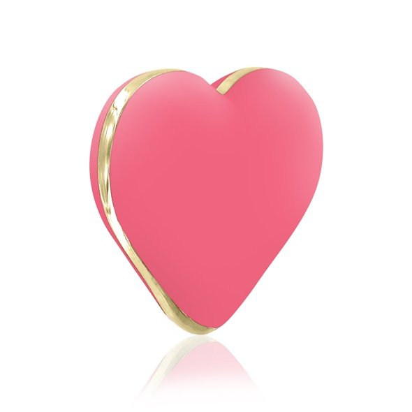 Rianne S Heart Vibe - Masażer łechtaczki (koralowy)