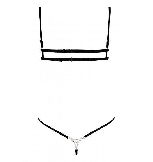 Anais Kyane komplet 2-częściowy XL (czarny)