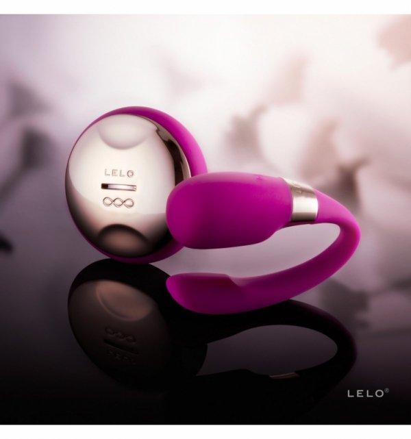 LELO Tiani 3 - wibrator dla par (głęboki róż)