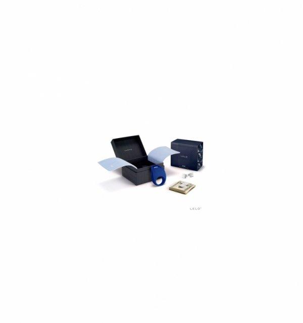 Pierścień wibracyjny Lelo - Pino (niebieski)