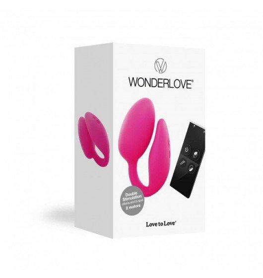 Love to Love Wonderlove – wibrator dla par (różowy)