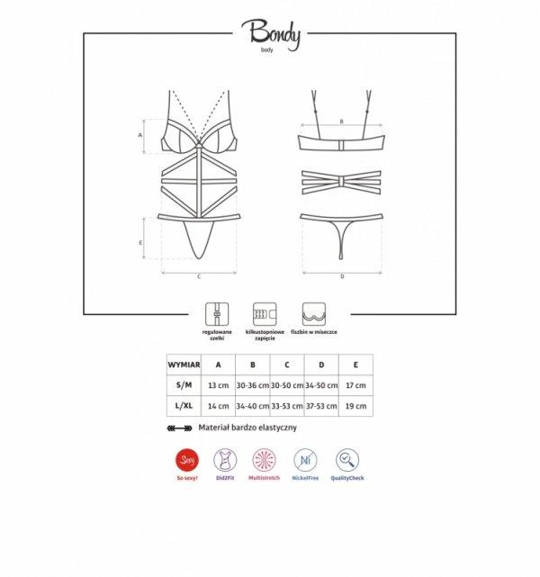 Obsessive Bondy body L/XL