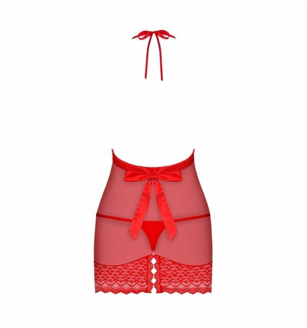 Obsessive 822-CHE-3 koszulka czerwona S/M