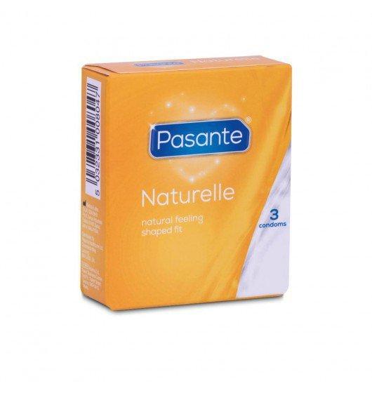 Pasante Naturelle - Prezerwatywy  (1op./3szt.)