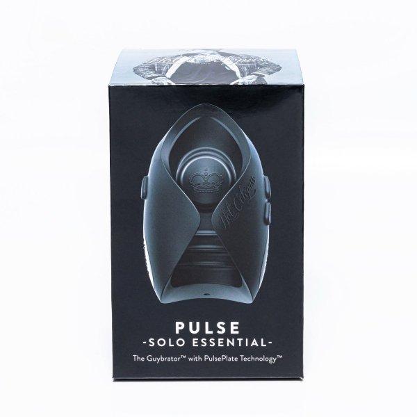 Hot Octopuss Pulse Solo Essential - wibrujący masturbator męski (czarny)