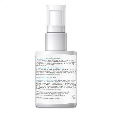 Potency Spray Intensive 50 ml - spray dla mężczyzn na zwiększenie potencji