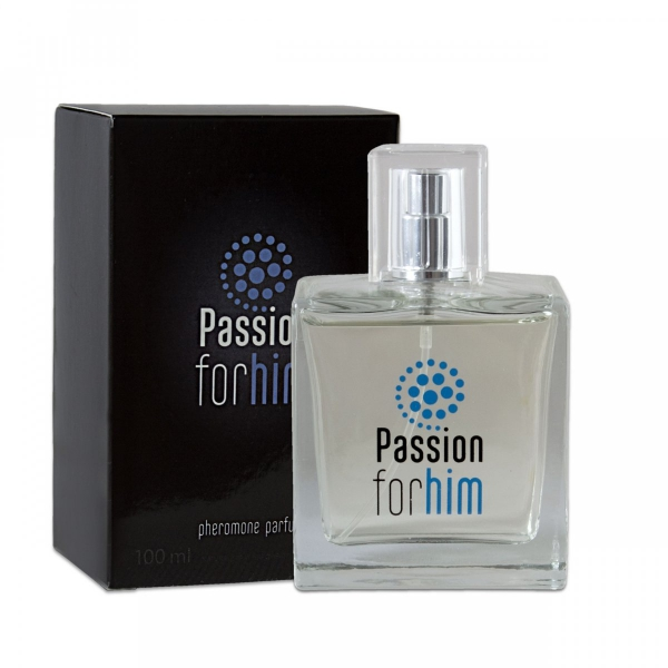 Passion for him 100ml – perfumy z feromonami - męskie