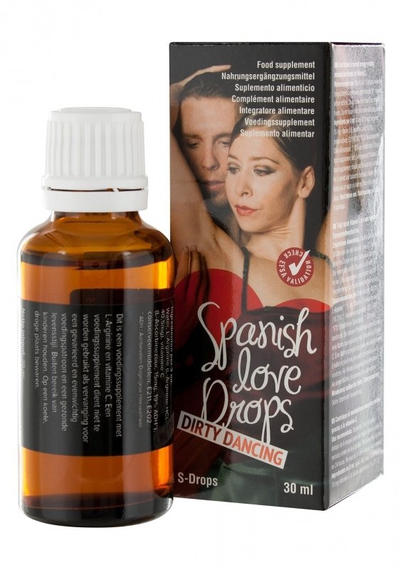 SPANISH LOVE DROPS Dirty Dancing 30 ML - hiszpańska mucha