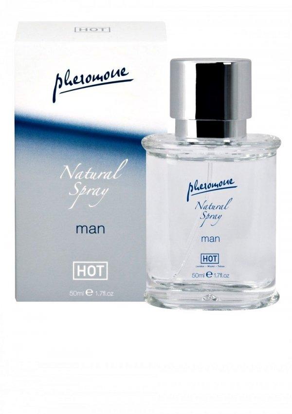 Feromony Hot Man Natural Spray 50ml - męskie