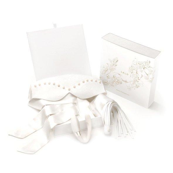LELO Bridal - zestaw akcesoriów erotycznych (opaska + pierścień + Lelo Noa)