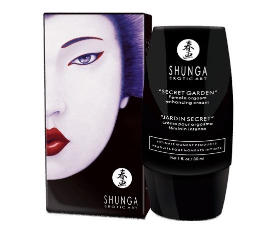 Shunga - Secret Garden Female Orgasm Enhancing Cream 30 ml - krem dla kobiet zwiększający intensywność orgazmów