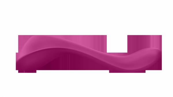 SATISFYER PARTNER MULTIFUN 2 - wibrator dla par (jagodowy)