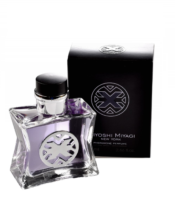 "Miyoshi Miyagi Next ""X"" for men 80 ml perfumy z feromonami - męskie"