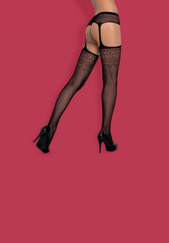 Garter stockings S207 XL/XXL