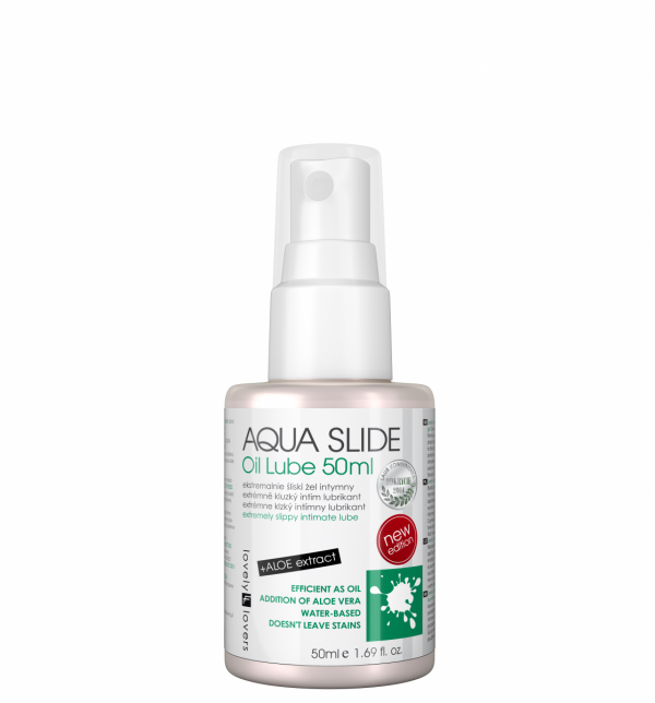 LOVELY LOVERS AQUA SLIDE Oil Lube 50ml - lubrykant na bazie wody