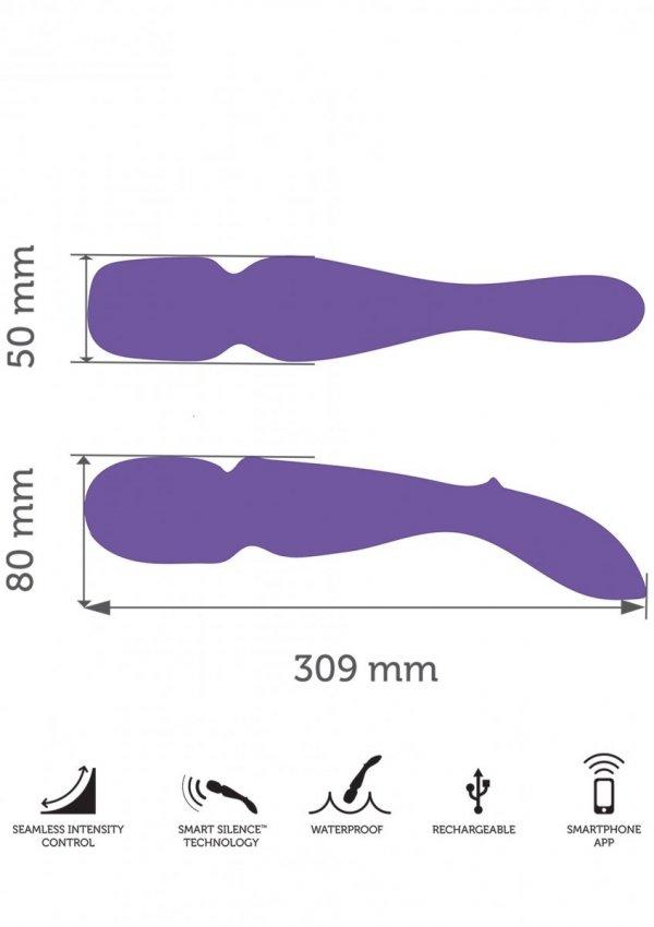 We-Vibe Wand - masażer do ciała (fioletowy)