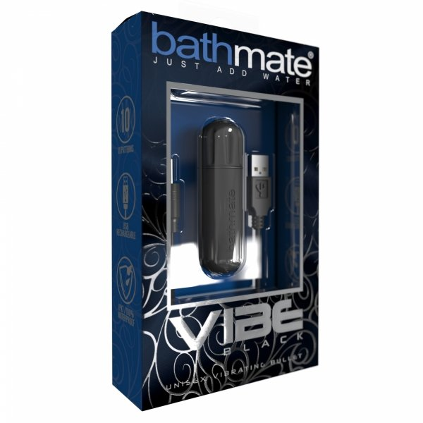 Bathmate Vibe Bullet  - wibrujący nabój do pompek (czarny)