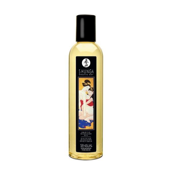 Shunga Sensual Massage Oil 250 ml olejek do masażu erotycznego