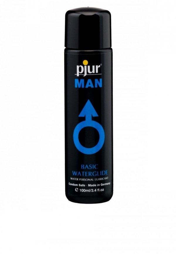 pjur MAN Basic Waterglide 100 ml - lubrykant na bazie wody