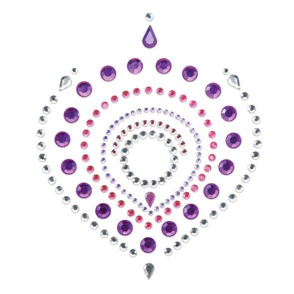 Bijoux Indiscrets Flamboyant - nasutniki ( różowo-fioletowe)