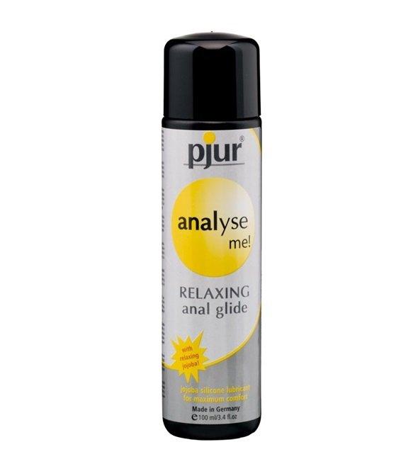 pjur Analyse Me! Relaxing 100 ml - silikonowy żel analny