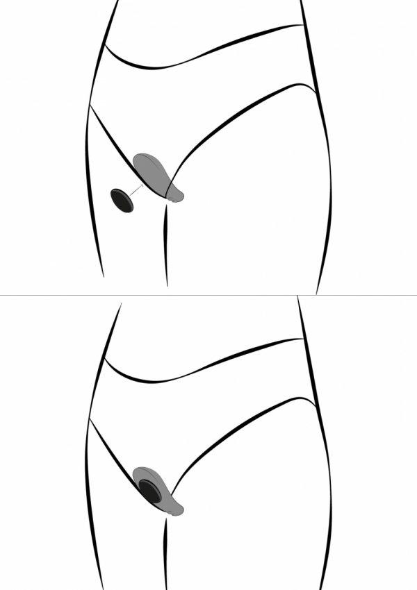 We-Vibe Moxie - masażer łechtaczki (czarny)