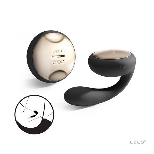 LELO Ida - Wibrator dla par (czarny)