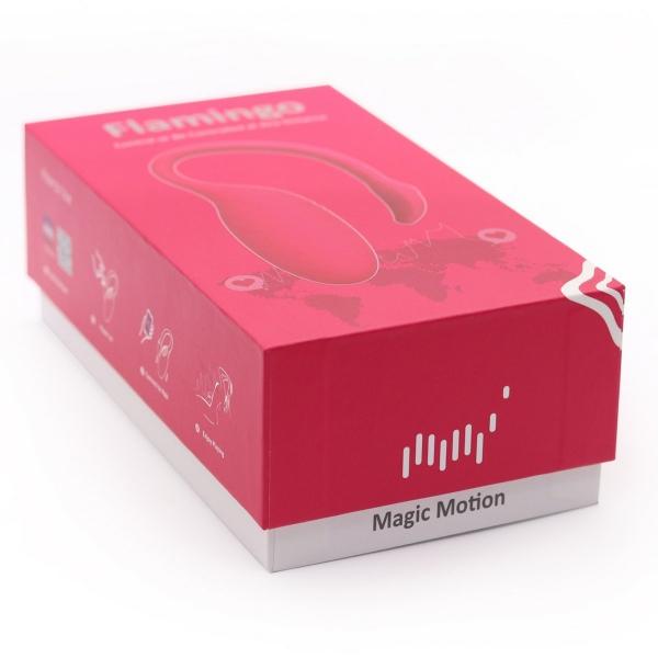 Magic Motion Flamingo - wibrujące jajko z aplikacją (różowe)