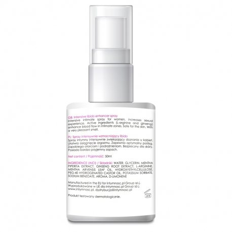 LibiSpray 50ml – spray na poprawę libido u kobiet
