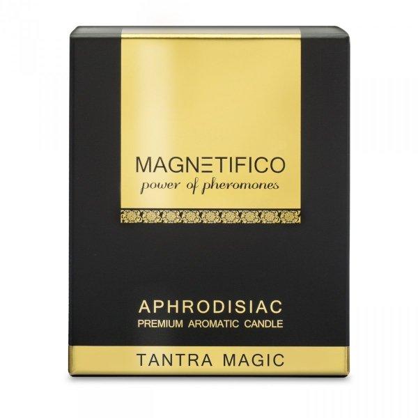 MAGNETIFICO Aphrodisiac Candle Tantra Magic - aromatyczna świeca z feromonami (drzewo sandałowe)