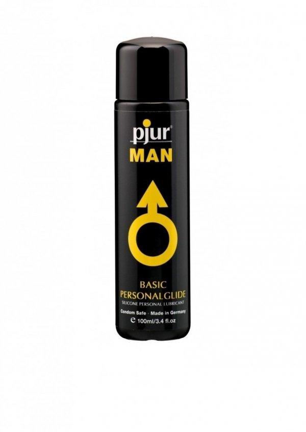 pjur MAN Basic Personalglide 100ml - lubrykant na bazie silikonu