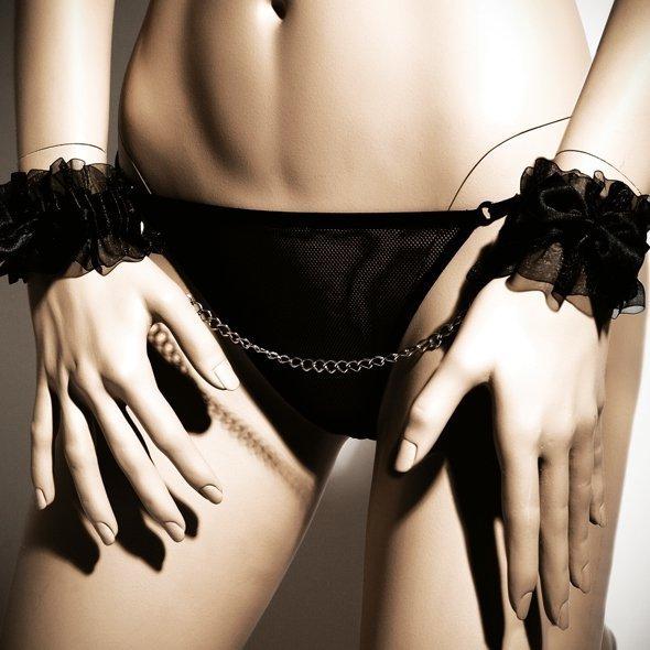 Bijoux Indiscrets - Frou Frou delikatne kajdanki erotyczne