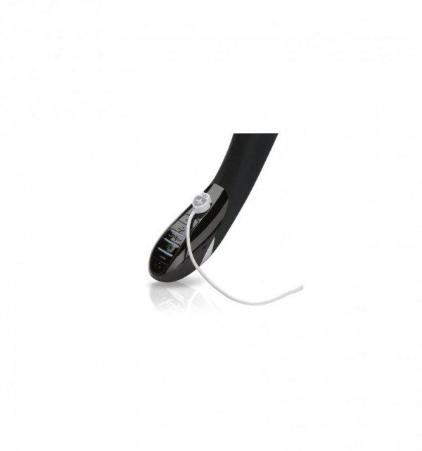 Wibrator z funkcją elektrostymulacji Mystim Sizzling Simon - czarny
