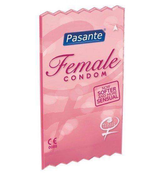 Prezerwatywy dla kobiet - Pasante - Female Clinic Pack (1 op. / 30 szt.)