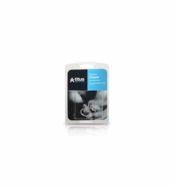 Pierścień erekcyjny Titus Range: Sperm Stopper Double 32mm