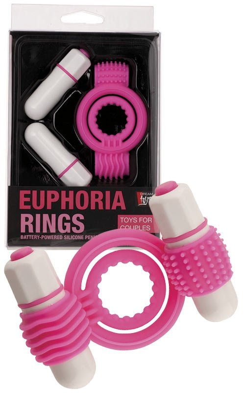 Neon Euphoria Clitoral Massage Ring Pink